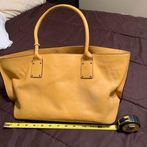 Mustard Yellow satchel